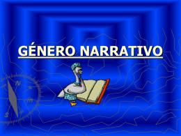 GENERO NARRATIVO - Portal RMM