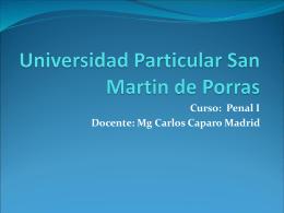 Universidad Particular San Martin de Porras