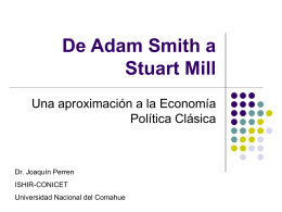 De Adam Smith a Stuart Mill