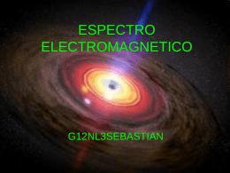 ESPECTRO ELECTROMAGNETICO - em2010