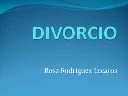 DIVORCIO - ::.. CAL ACADEMICA