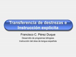 Transferability of skills