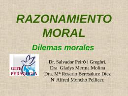 RAZONAMIENTO MORAL