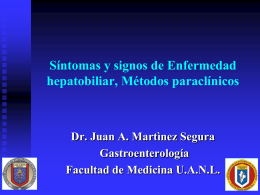 INTERPRETACION DE LAS PRUEBAS DE FUNCION HEPATICA
