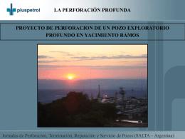 Proyecto de un Pozo Exploratorio en Yacimiento Ramos