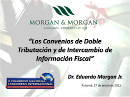 Dr. Eduardo Morgan Jr. Morgan & Morgan Group