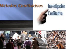 INVESTIGACION CUALITATIVA INVESTIGACION