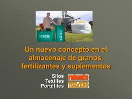 Un nuevo concepto en el almacenaje de granos