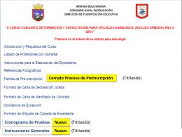 Diapositiva 1 - Armada Bolivariana de Venezuela