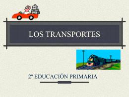 LOS TRANSPORTES - Universidad de Castilla