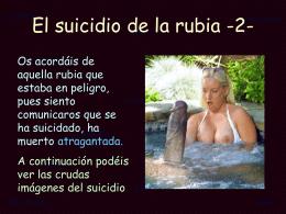 AG2- El suicidio de la rubia -2-