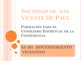 Vincentian Discernment