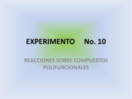 EXPERIMENTO No. 10