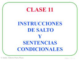 INSTRUCCIONES DE SALTO