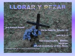 REZAR Y LLORAR