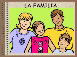 LA FAMILLE - John Bald/language and literacy
