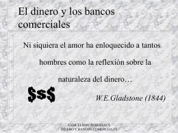 El dinero y los bancos comerciales