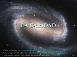 LA CARIDAD - Google Sites