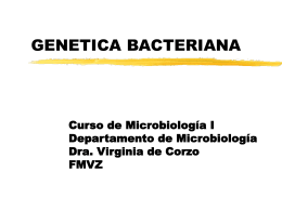 GENETICA BACTERIANA - Avindustrias Guatemala