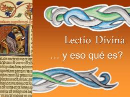 Lectio Divina - Somos Vicencianos