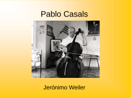 Pablo Casals - TG208