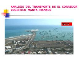 ANALISIS DEL TRANSPORTE DE EL CORREDOR LOGISTICO …