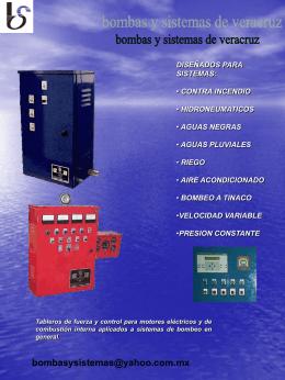 Picsa control - Bombas y Sistemas de Veracruz S.A. de C.V.