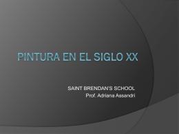 PINTURA EN EL SIGLO XX - HdelArte