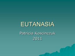 EUTANASIA - Facultad de Ciencias Veterinarias