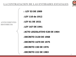 CONTRATACION ESTATAL - materiales de estudio