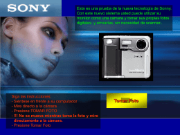 sony webcam