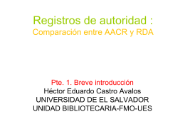 Registros de autoridad