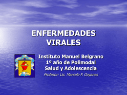 ENFERMEDADES VIRALES