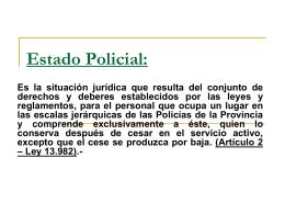 Estado Policial: