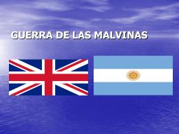 Guerra de las Malvinas - BIBLIOTECA VIRTUAL