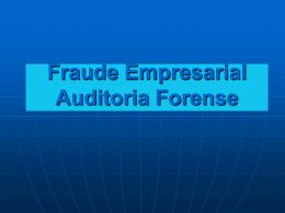 Fraude Empresarial