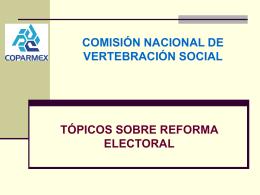 REFORMAS ELECTORALES