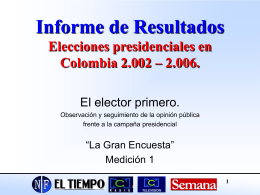 Informe - Terra Colombia