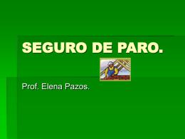 SEGURO DE PARO. - Portada Principal Uruguay Educa