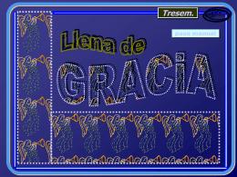 Llena de Gracia. - Mochila Pastoral