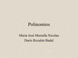 Polinomios - XTECBlocs