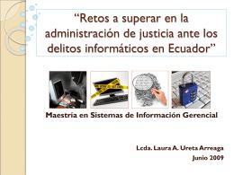 Diapositiva 1 - DSpace en ESPOL: Home