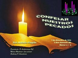 Confesar nuestros pecados-