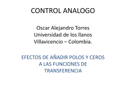 CONTROL ANALOGO ING. JAVIER EDUARDO MARTINEZ …