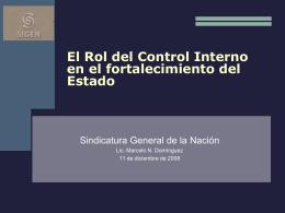 Compre Argentino: El funcionamiento de los organismos