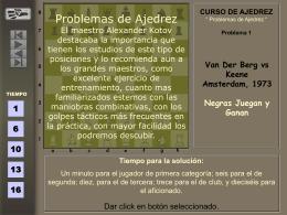 Problemas de ajedrez 3.pps