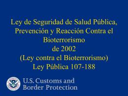 FDA BTA - SOFOFA – Impulsando el Crecimiento de Chile