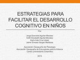 Estrategias para facilitar el desarrollo del lenguaje