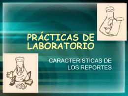 PRACTICAS DE LABORATORIO - fisIOn
