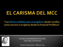 LA ESENCIA DEL MCC - Movimiento de Cursillos de …